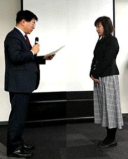 日本商工鍵所表彰式