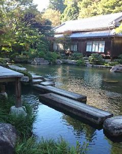 百済寺庭園